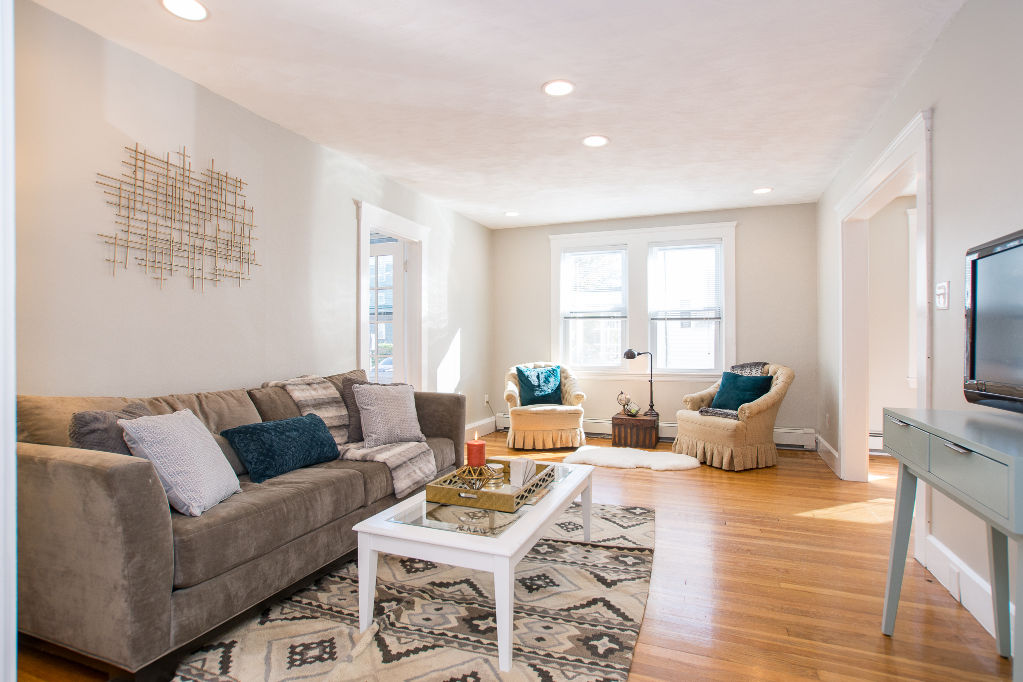 86 Turner St.; #1, Brighton, MA - Living room