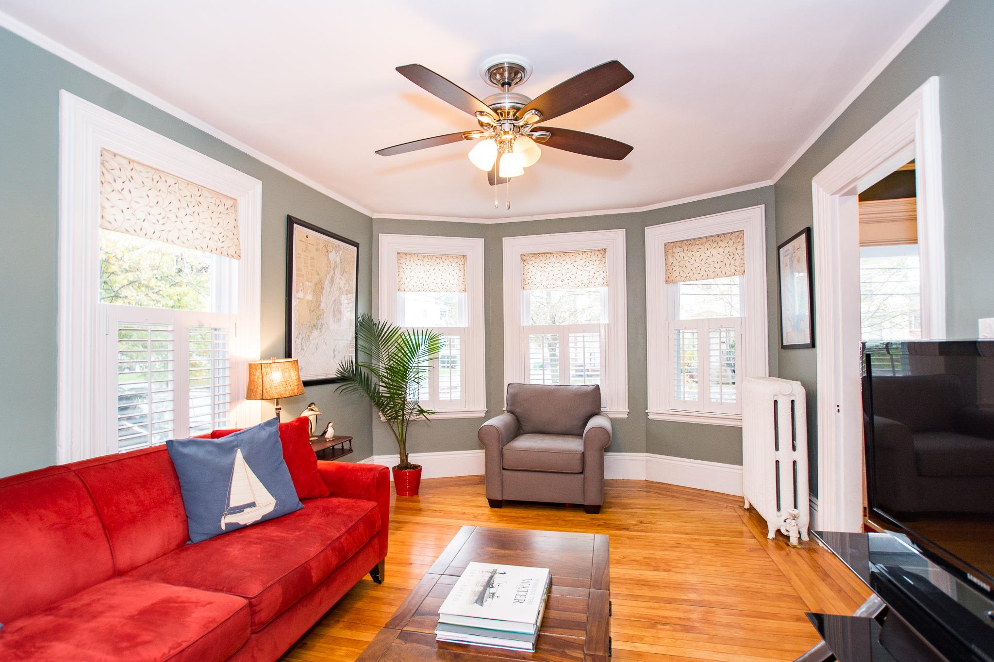48 Eddy Street, Newton, MA - Livingroom