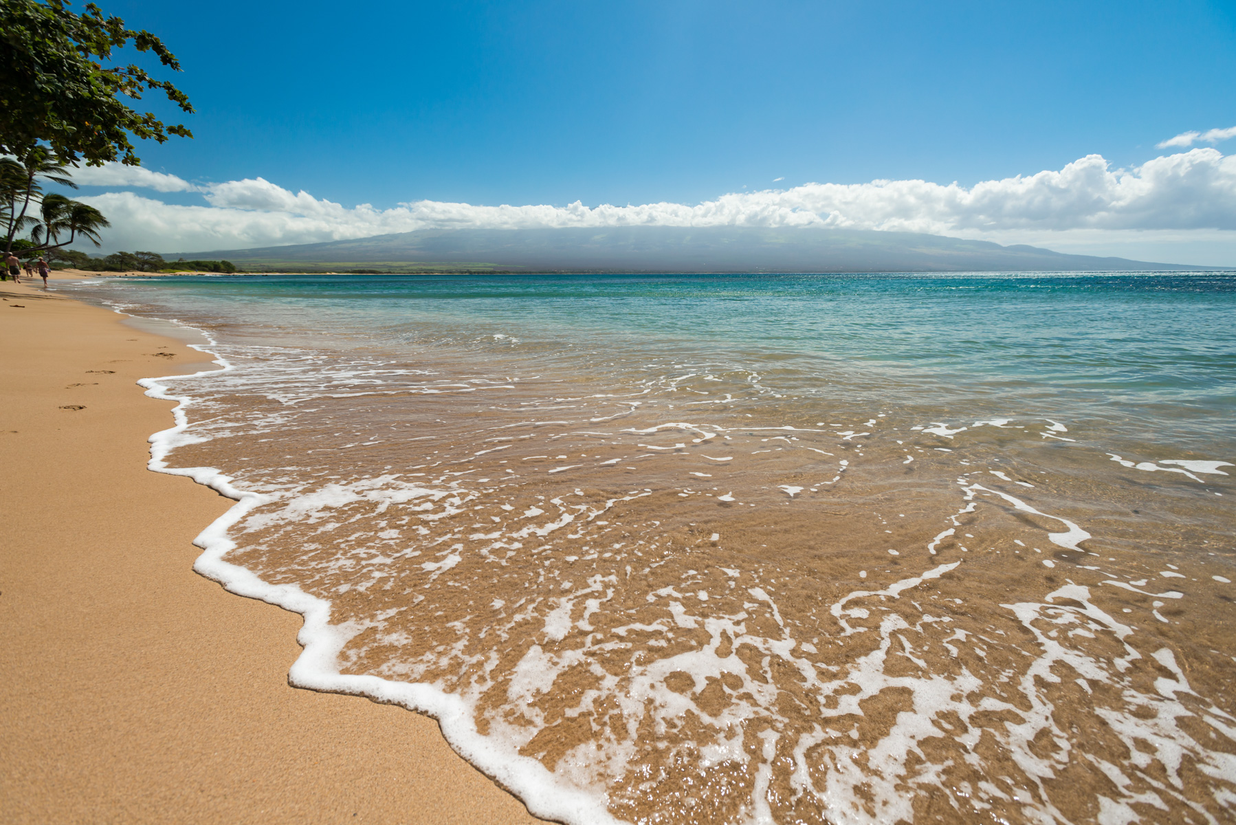 Maalaea Beach with Haleakala Views