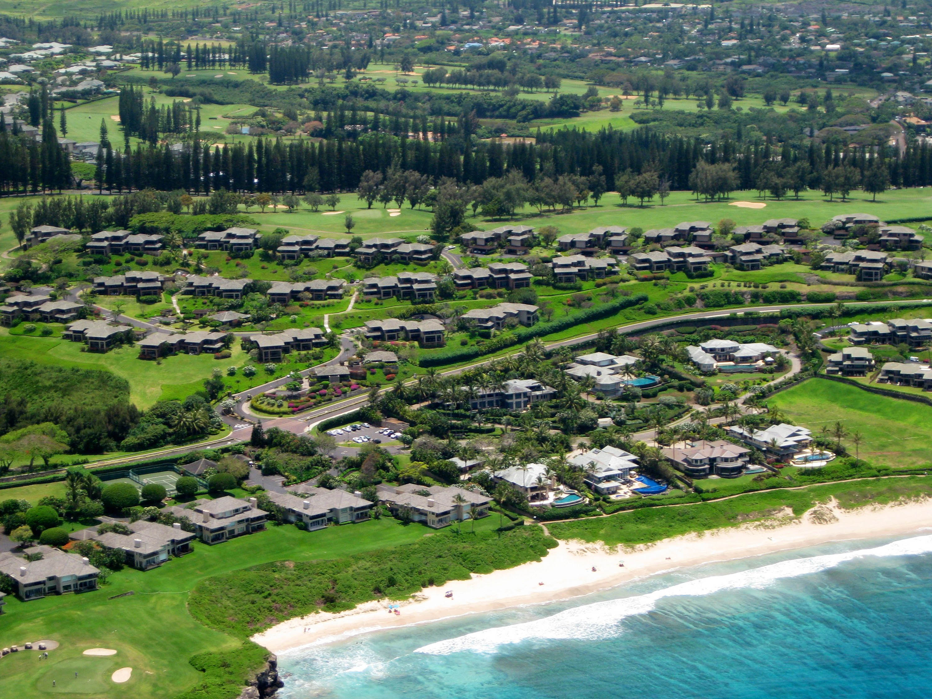 Ironwoods and Kapalua Place