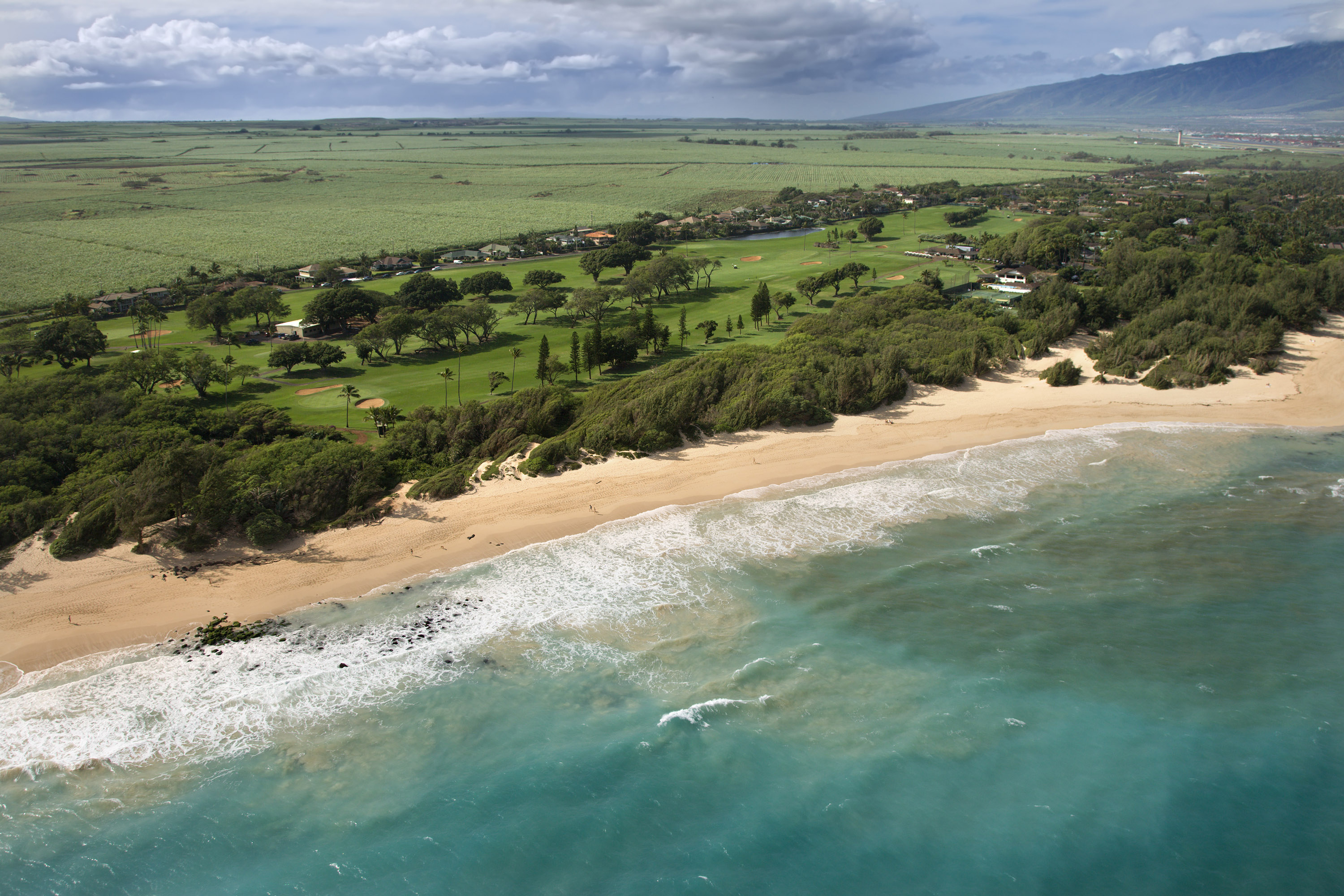 Spreckelsville Maui Country Club & Baldwin Beach Park