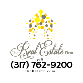 The Real Estate Firm Logo and Phone
