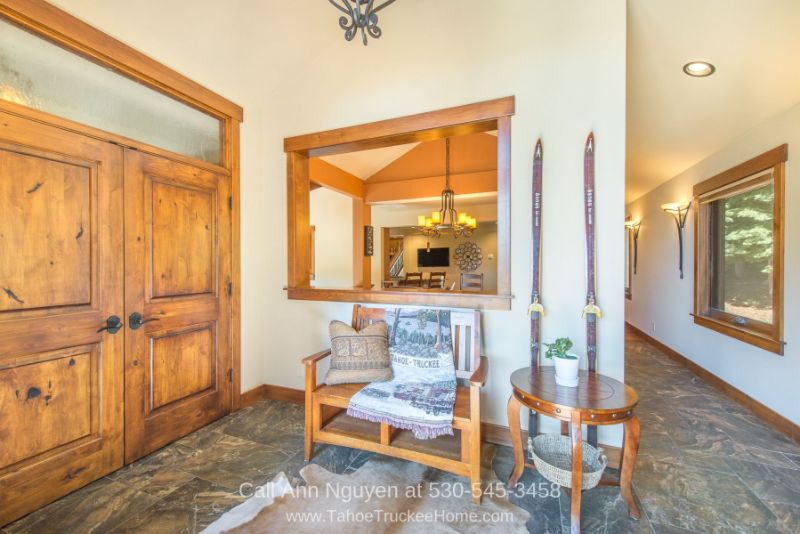 Homes in Tahoe Donner Truckee CA - Feel the welcoming appeal of this mountain home for sale in Tahoe Donner the minute you walk through the door.