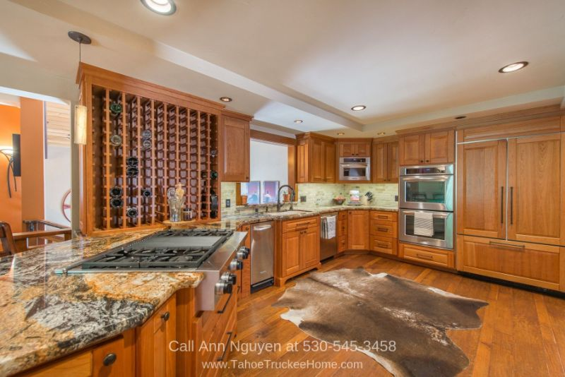 Tahoe Donner CA Homes for Sale - Get ready for some serious cooking in the chef's kitchen of this stunning mountain home in Tahoe Donner.