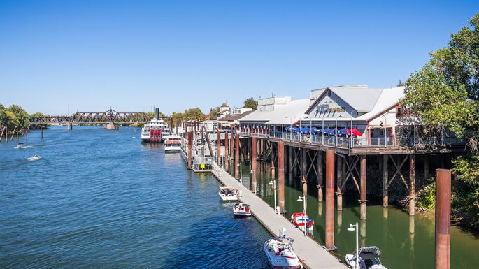 Waterfront Old Sacramento, CA