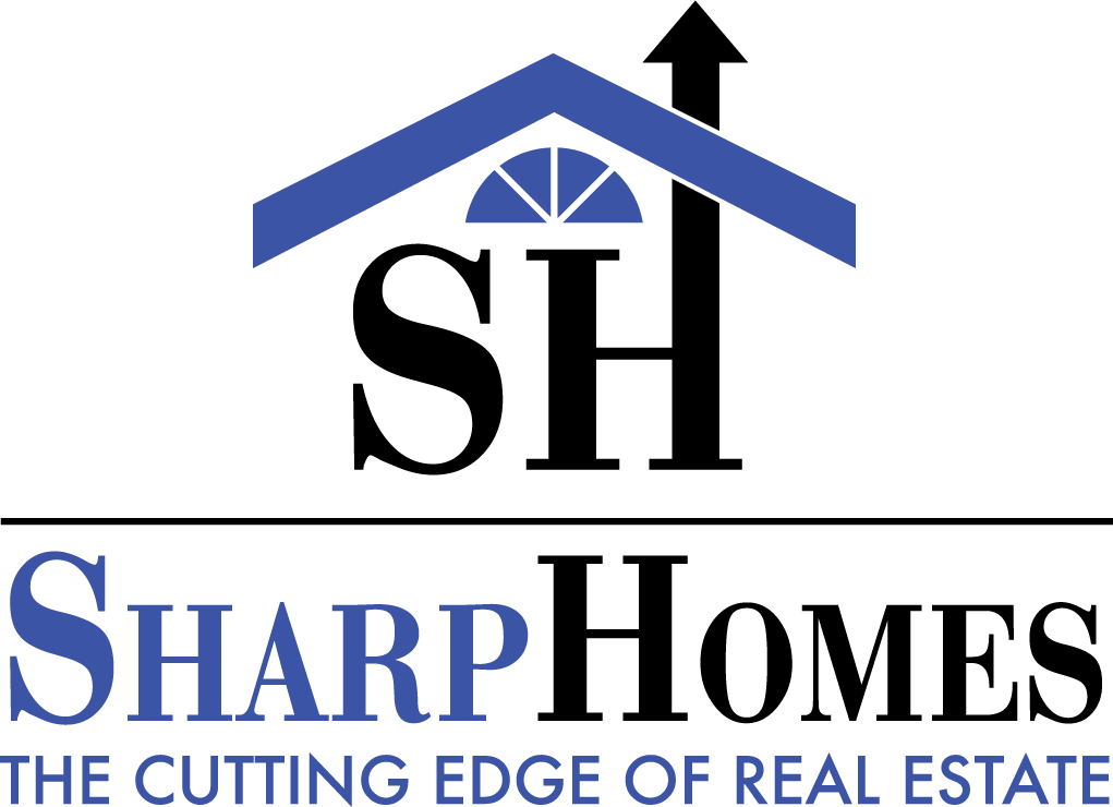Sharp Homes logo.