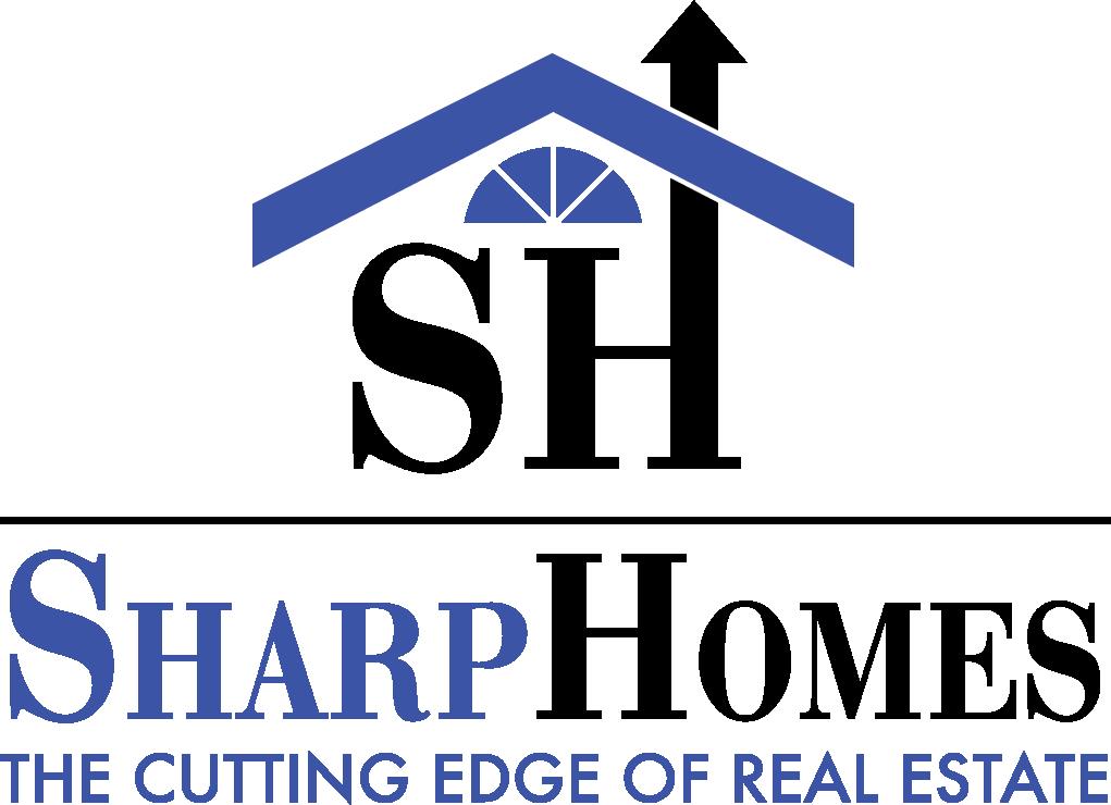 Sharp Homes logo.
