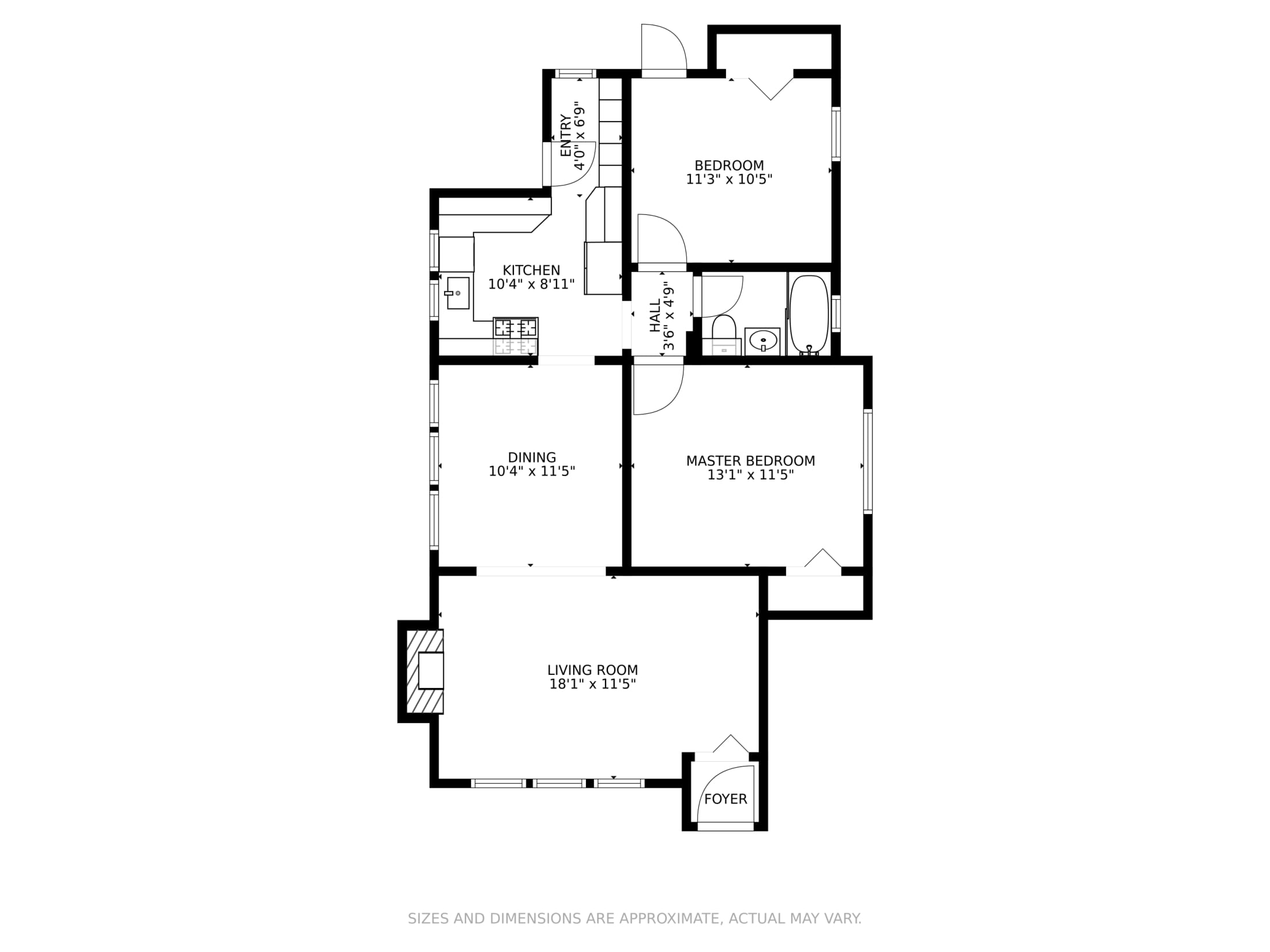 21-23 Newell Rd., Newton, MA - Floor Plan