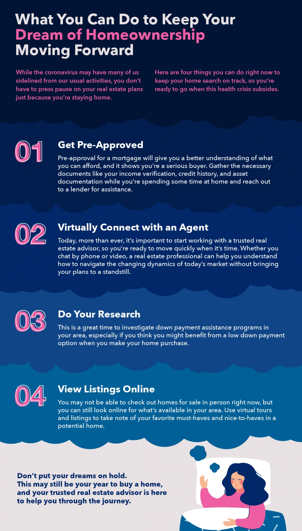 What You Can Do to Keep Your Dream of Homeownership Moving Forward [INFOGRAPHIC] | MyKCM
