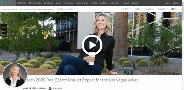 March 2020 Real Estate Market Report for the Las Vegas Valley | Elite Home Finders