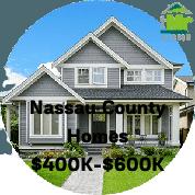 Nassau County Homes For Sale $400k-$600k