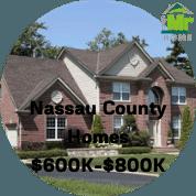 Nassau County NY Homes For Sale $600k-$800k