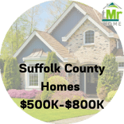 Suffolk County Homes For Sale $500k-$800k