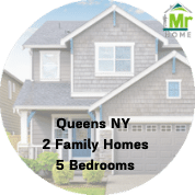 queens ny 2 family homes for sale 5 bedrooms