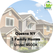 Queens ny 1 family homes for sale under $500k