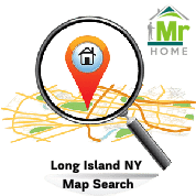 Long Island ny homes for sale map search