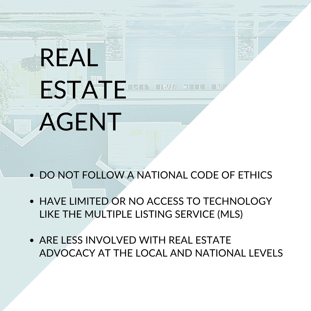 Real Estate Agent Differences