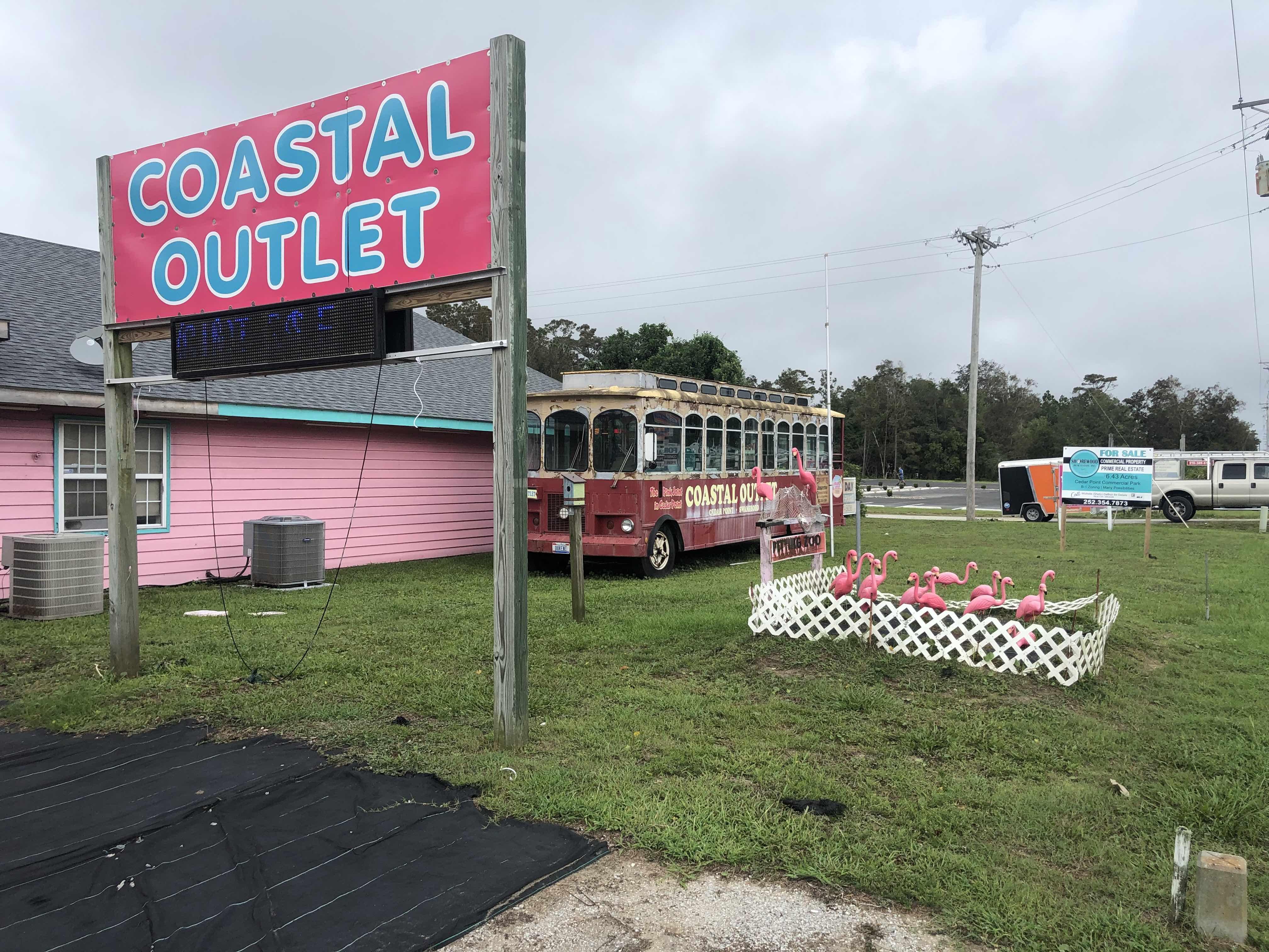 Coastal Outlet in Cedar Point
