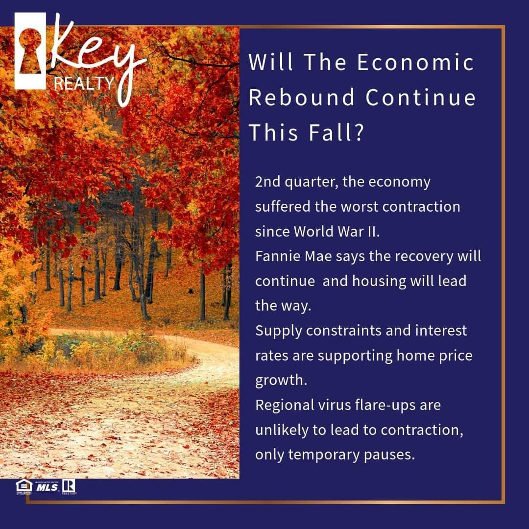 Housing leader in economic rebound.