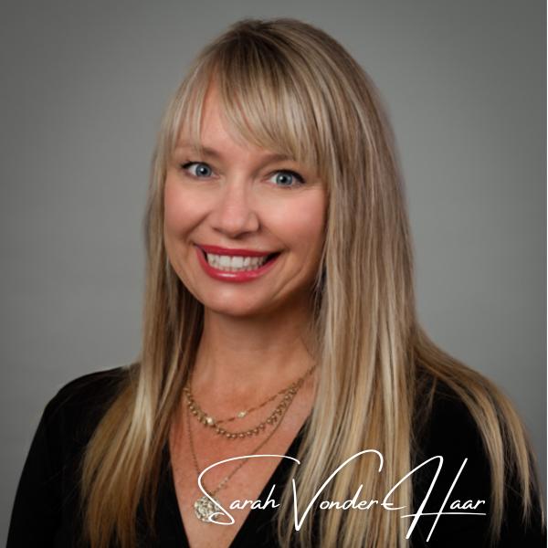 Headshot of Sarah Vonder-Haar, a buyers agent for the Flanagan Group, Keller Williams Realty of Southwest Missouri