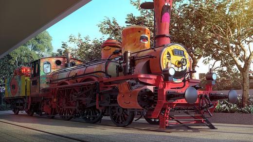 Locomotiva - Fachada - Piscine Station Resort - 315 - 7