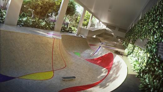 Skate - Fachada - Piscine Station Resort - 315 - 9