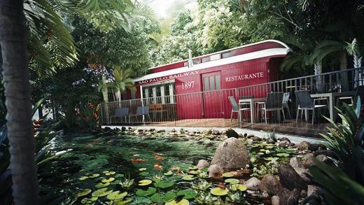 Lago - Fachada - Piscine Station Resort - 315 - 17