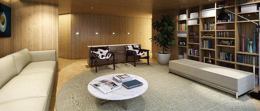 Sala de leitura - Fachada - Helbor Nun Vila Nova - 317 - 13