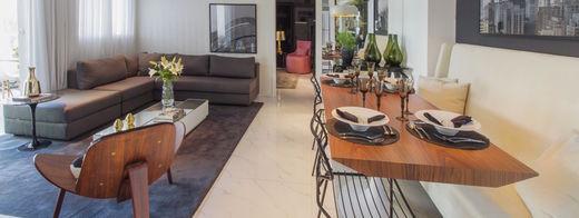 Living apto tipo ampliado - Fachada - Helbor Art Paulista - 316 - 14