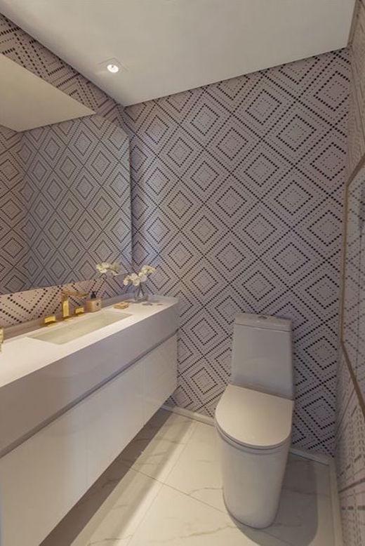 Lavabo apto tipo ampliado - Fachada - Helbor Art Paulista - 316 - 18