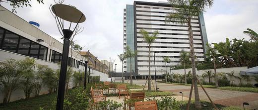 Boulevard e praca de entrada - Sala Comercial 40m² à venda Rua Benedito Fernandes,Santo Amaro, São Paulo - R$ 270.270 - II-1542-5824 - 11