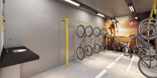Bicicletario - Fachada - Orbit Residencial - 321 - 18