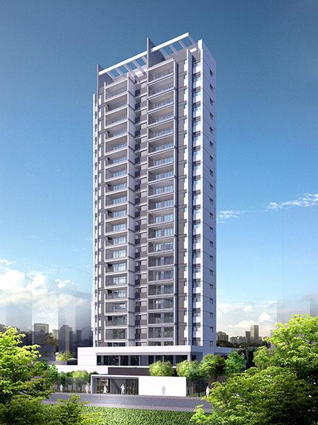 Fachada - Apartamento 3 quartos à venda Aclimação, São Paulo - R$ 1.090.114 - II-1552-5842 - 1