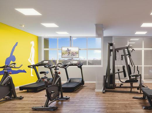 Fitness - Apartamento 3 quartos à venda Aclimação, São Paulo - R$ 1.090.114 - II-1552-5842 - 5