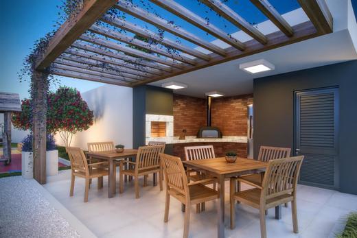 Churrasqueira com forno de piz - Apartamento 3 quartos à venda Aclimação, São Paulo - R$ 1.090.114 - II-1552-5842 - 6