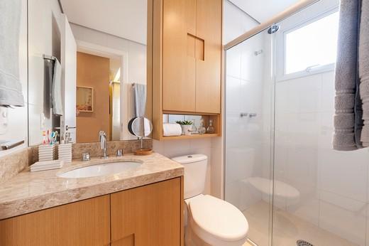 Banheiro suite - Fachada - Modern Life Fagundes Filho - 326 - 10