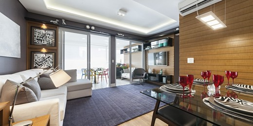 Living - Apartamento 2 quartos à venda Vila Mariana, São Paulo - R$ 1.300.000 - II-1579-5929 - 4