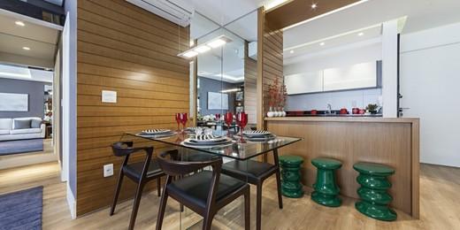 Living - Apartamento 2 quartos à venda Vila Mariana, São Paulo - R$ 1.300.000 - II-1579-5929 - 5