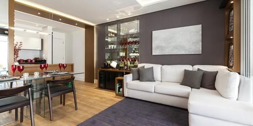 Living - Apartamento 2 quartos à venda Vila Mariana, São Paulo - R$ 1.300.000 - II-1579-5929 - 6