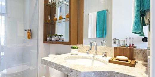 Banheiro - Apartamento 2 quartos à venda Vila Mariana, São Paulo - R$ 1.300.000 - II-1579-5929 - 14