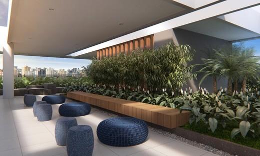Lounge externo - Fachada - Olhar Augusta - 328 - 18