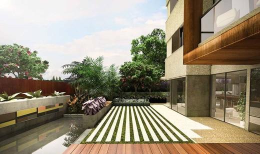 Jardim de acesso ao hall - Fachada - Guedala Next - 329 - 3