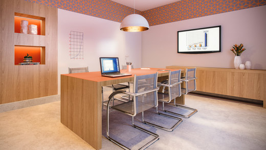 Home office - Fachada - Residence Jacques Pilon - 331 - 17