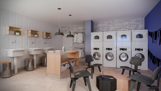Lavanderia - Fachada - Residence Jacques Pilon - 331 - 20