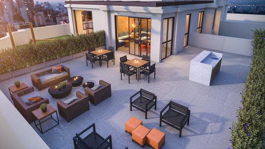 Terraco lounge - Fachada - Residence Jacques Pilon - 331 - 22