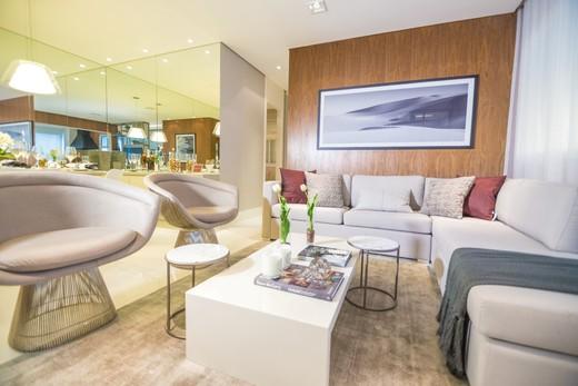Living - Apartamento à venda Rua Doutor Oscar Monteiro de Barros,Morumbi, São Paulo - R$ 1.111.200 - II-1634-6165 - 5