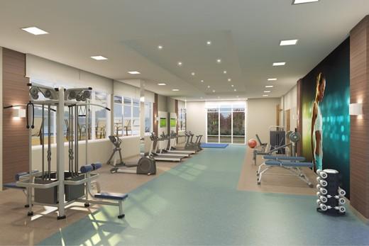 Fitness - Apartamento à venda Rua Doutor Oscar Monteiro de Barros,Morumbi, São Paulo - R$ 1.111.200 - II-1634-6165 - 13