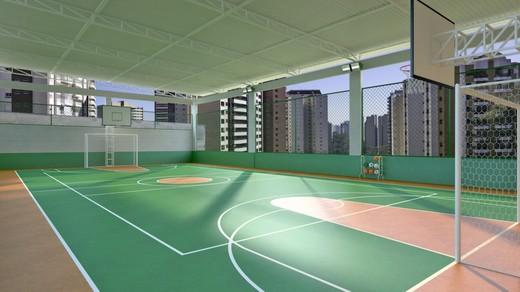 Quadra - Apartamento à venda Rua Doutor Oscar Monteiro de Barros,Morumbi, São Paulo - R$ 1.111.200 - II-1634-6165 - 15