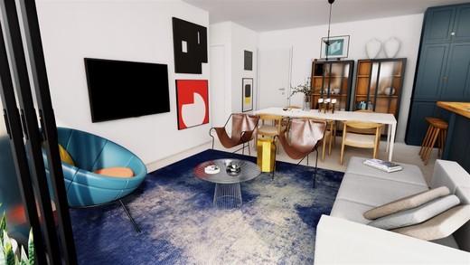 Decorado 101m living - Fachada - SPOT 393 Residencial - 49 - 7