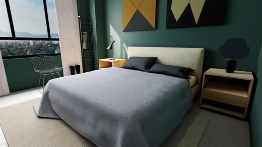 Decorado 101m quarto - Fachada - SPOT 393 Residencial - 49 - 9